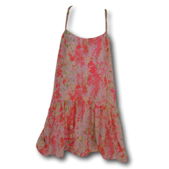 Abercrombie & Fitch Dresses & Skirts - Abercrombie & Fitch Spagetti Floral Sun Dress L